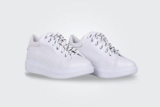 Alexis Sneakers - Full White