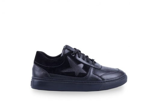 B-Star Sneakers - Black Suede