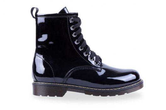 Tina Boots - Black Glossy