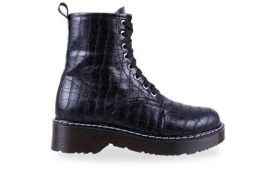 Andrea Boots - Black Croco