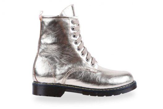 Tina Boots - Gold Wavy