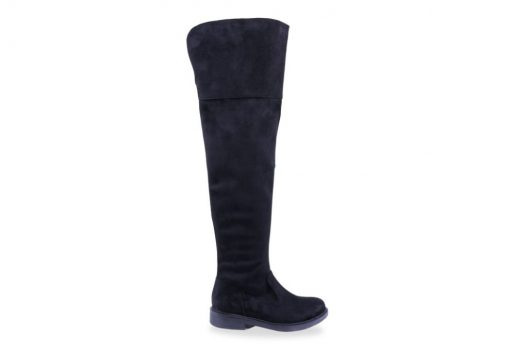 Dana Boots - Black Suede