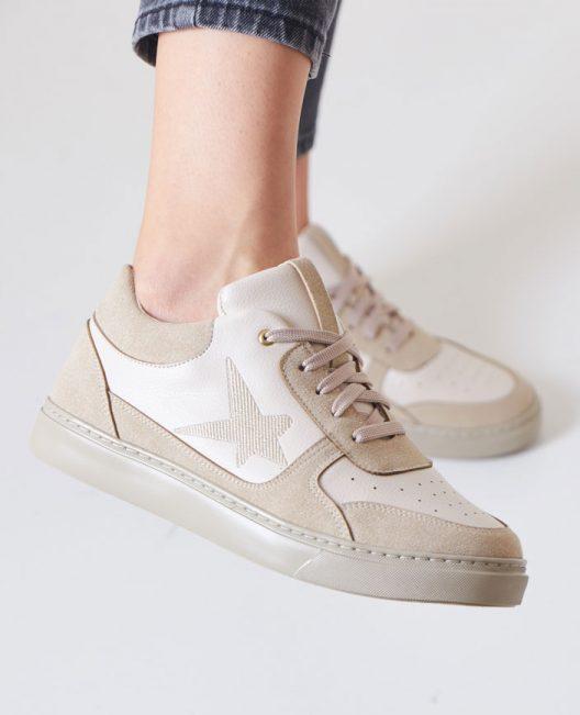 New B-Star Sneakers - Beige