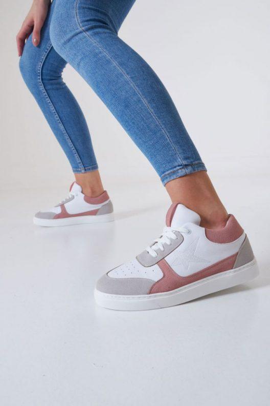 New B-Star Sneakers - Rose