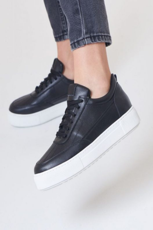 Nappa Sneakers - Black