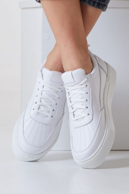 Nappa Sneakers - White
