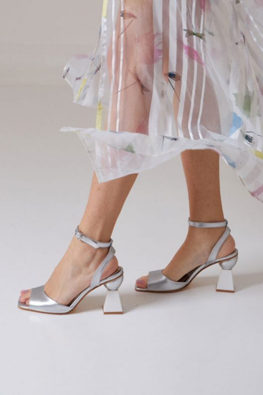 Missy Sandals - Silver