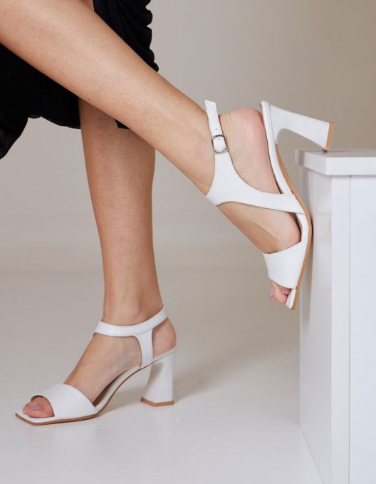Thalia Sandals - White