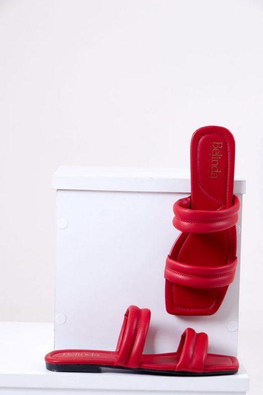 Kenzie Flats - Red