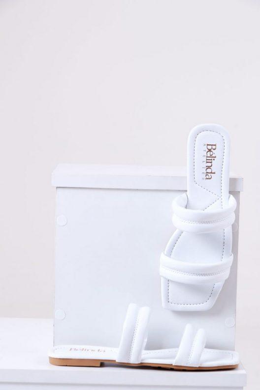 Kenzie Flats - White