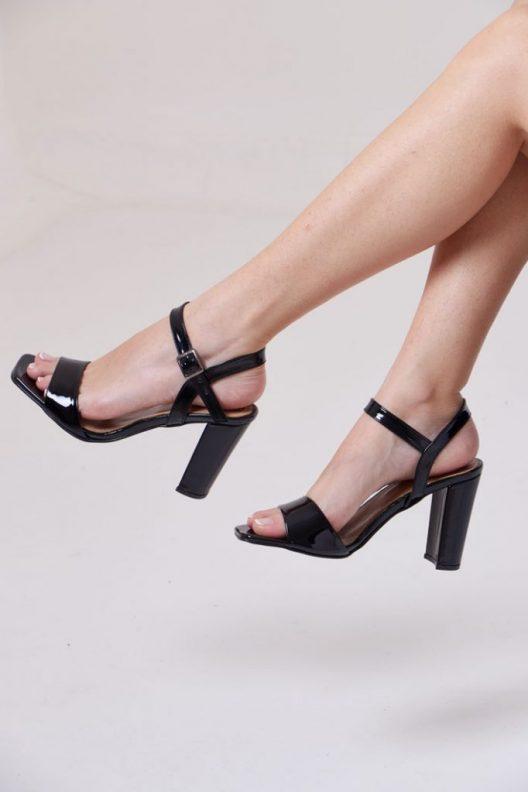 Vienna Block Heels - Black