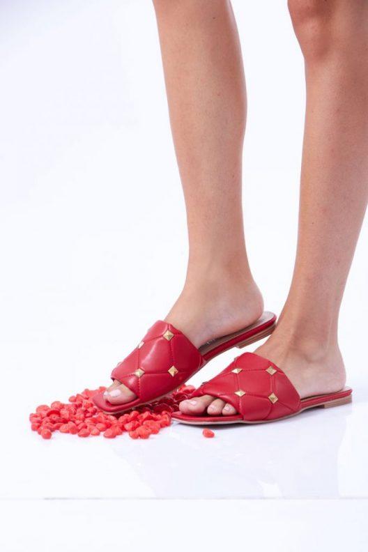 Tia Flats - Red