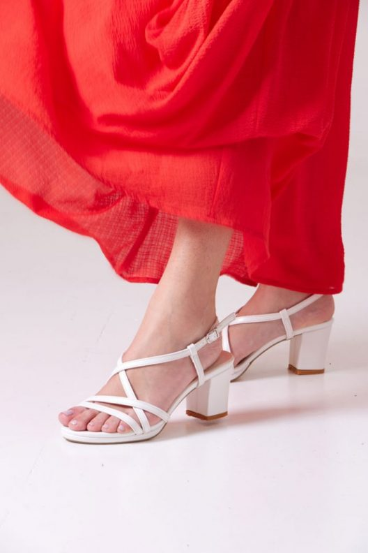 Terry Sandals - White