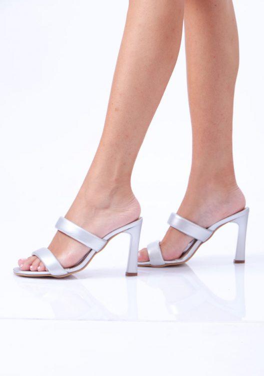 Rhea Scarpin - Silver
