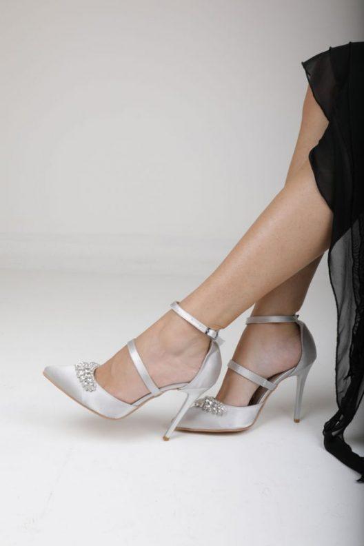 Cindy Heels - Silver
