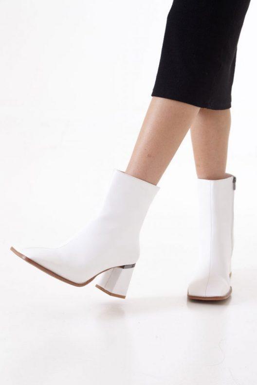 Carmen Boots - White