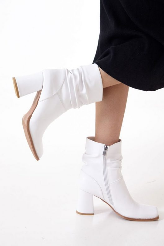 Caleen Boots - White