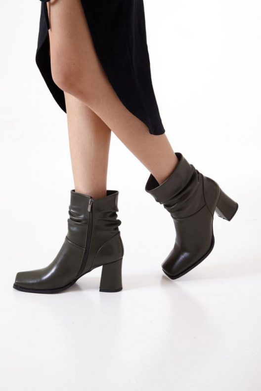 Caleen Boots - Olive