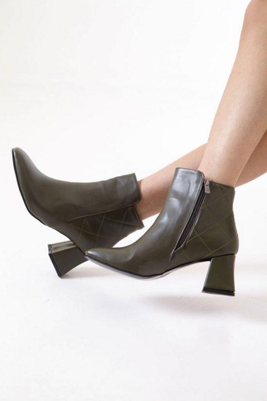 Celia Boots - Olive