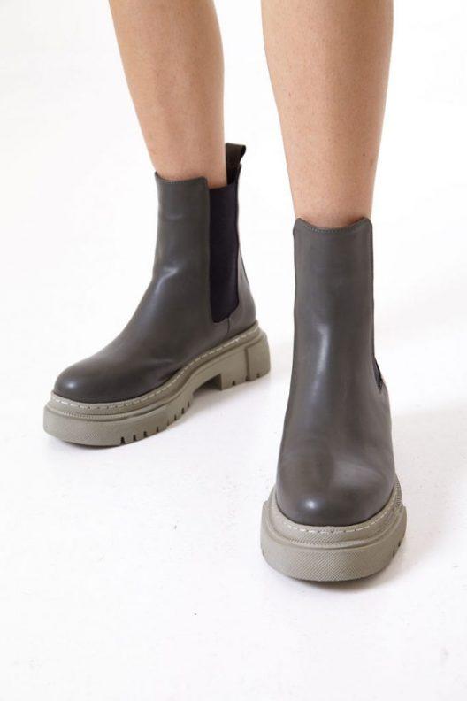 Berta Boots - Olive