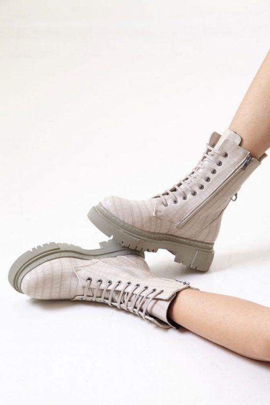 Bana Boots - Beige