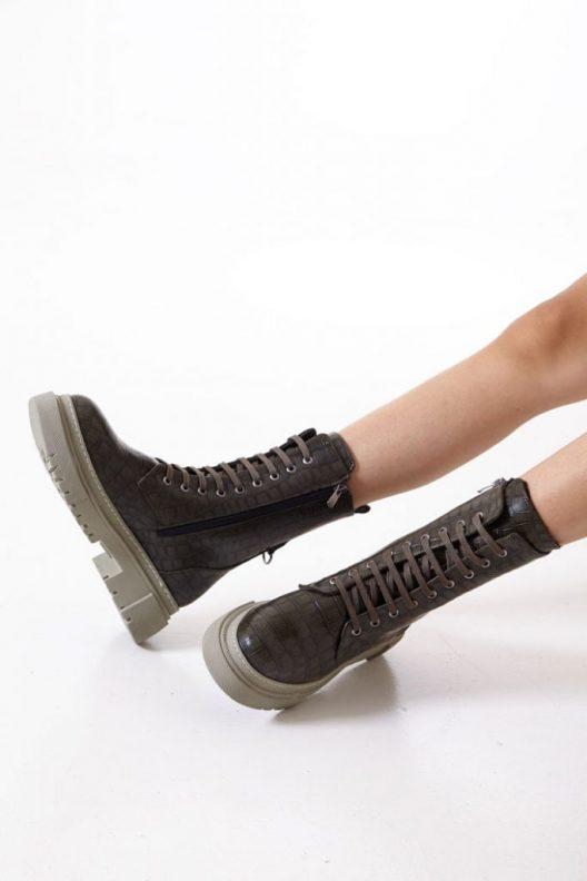 Bana Boots - Olive