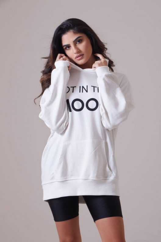 NITM Oversized Hoodie - White